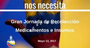 Mayo 13 ¡Por favor ayúdanos a ayudar a Venezuela ! Calgary Canada