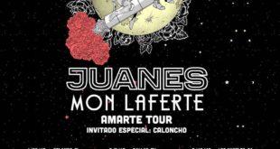 Domingo Abril 29-2018 - Juanes y Mon Laferte Amarte Tour-Eventos en Toronto Canada- Eventos Latincanada.ca