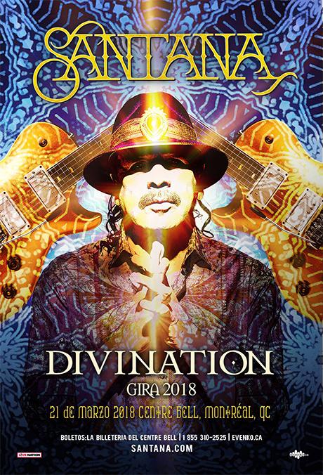 Marzo 21 - Carlos Santana en Montreal-Eventos Latin Canada - Montreal-@latincanada.ca