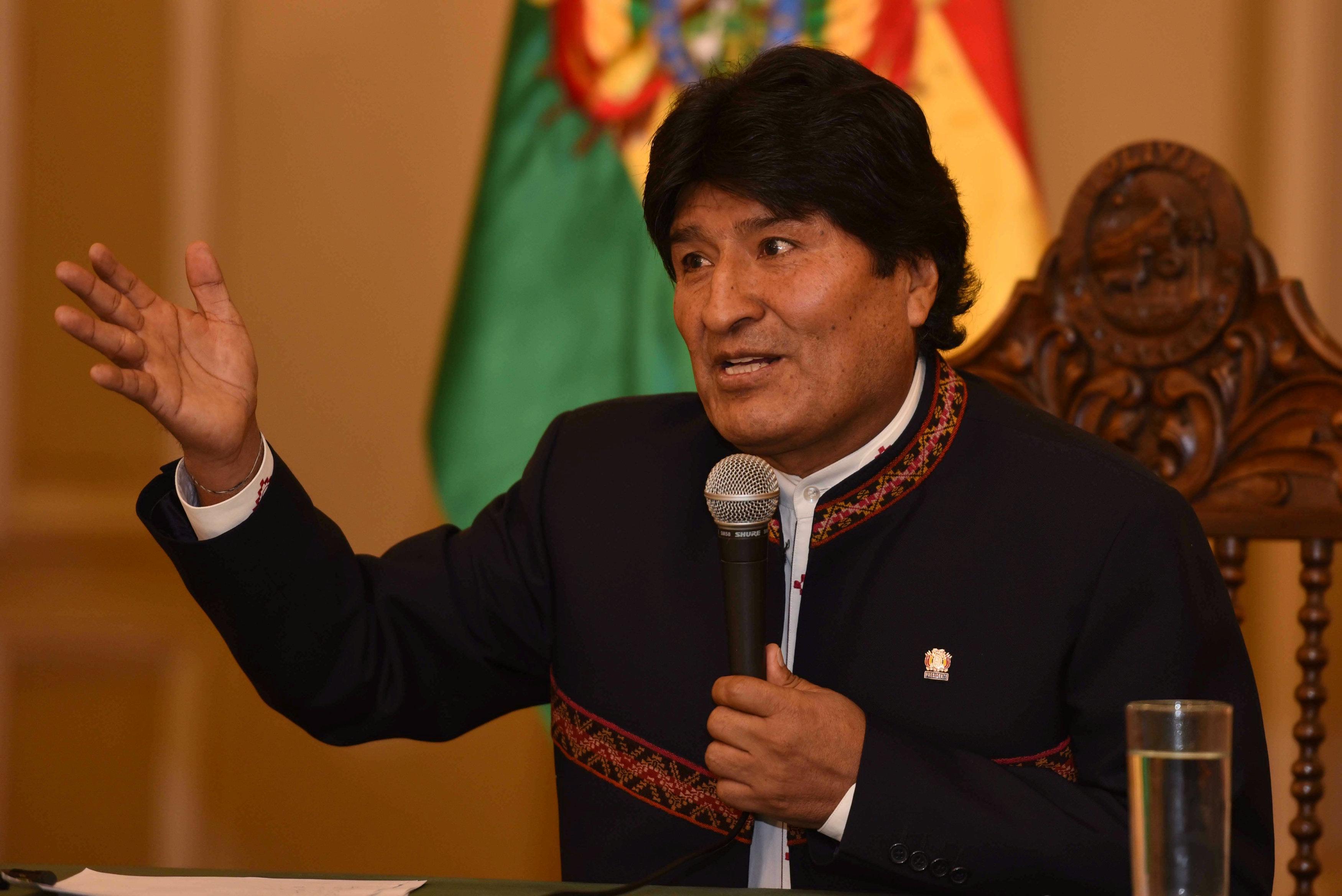 """Evo Morales asegura que la """"verdadera amenaza"""" es EE.UU. y no Venezuela-Noticias de Canada-@latincanada.ca"""