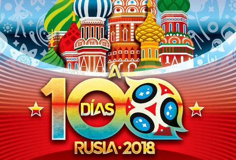 Faltan solo 100 días para el Mundial Rusia 2018-Noticias de Canada-@latincanada.ca