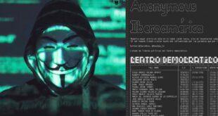 Anonymous atacó al Centro Democrático, al Presidente Duque y al Mindefensa