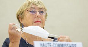 Bachelet solicitó que se levanten las sanciones sectoriales contra Venezuela