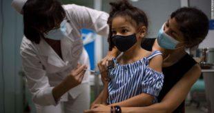 Los países que están vacunando a los niños contra el covid-19