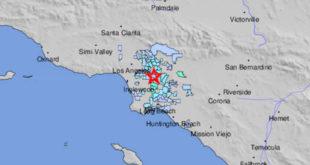Sismo de magnitud 3.6 sacude partes del sur de California